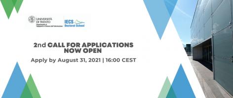 IECS PhD Program Apply now!