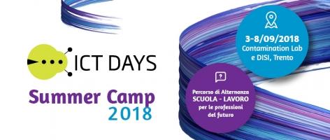 Bando Alternanza Scuola Lavoro: ICT Days Summer Camp