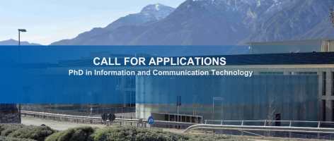 Doctoral School in Information and Communication Technology - 34th Cycle
