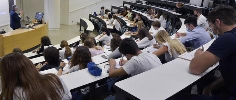 studenti in presenza